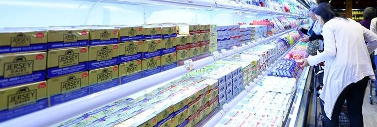 Jersey Dairy in Hong Kong Supermarkets