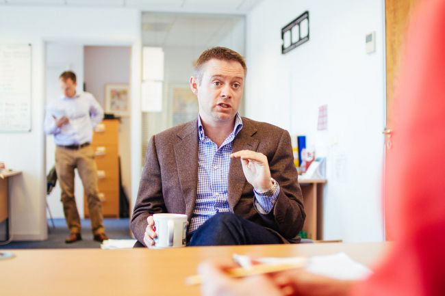 James Filleul, Bailiwick Express, A day in the life of a Jersey Entrepreneur